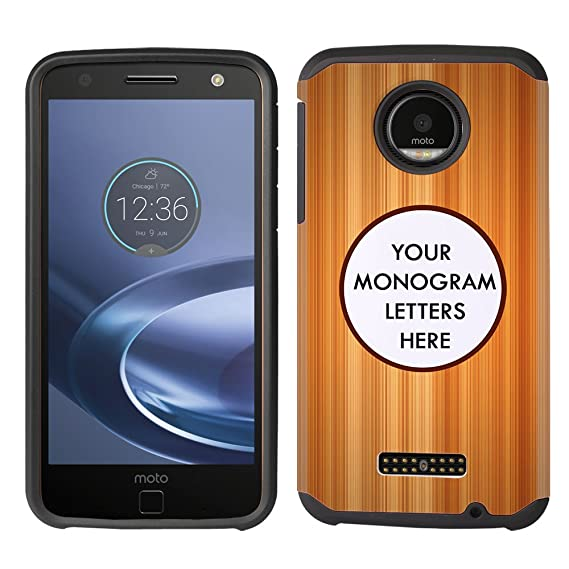 half off 0d5be 546e6 Amazon.com: FINCIBO Custom Case Compatible with Motorola Moto Z ...