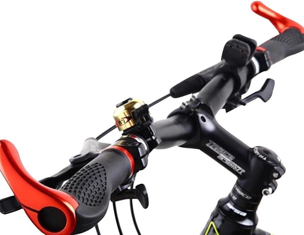 Rouge//Bl Lmeno 1 Paire Poign/ées Guidon Caoutchouc V/élo Grips Antid/érapant Antichoc Ergonomique Aluminium Barend Serrure Sur Extr/émit/é Verrouillage Fin avec Ram Corne End Bar pour VTT Mountain Cyclisme Route Cycliste Bike
