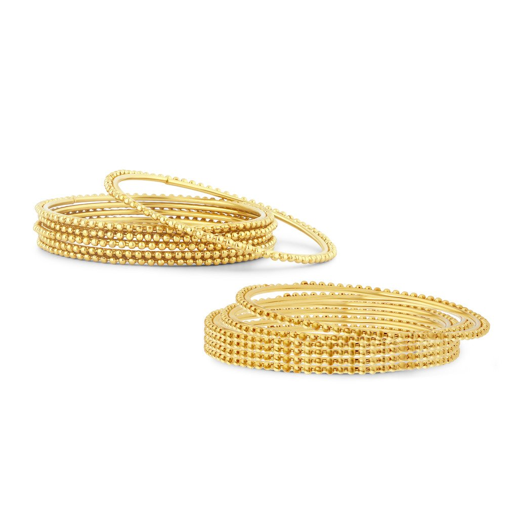 d458b130a3d Sukkhi Glimmery Gold Plated Bangles for Women  Amazon.in  Jewellery