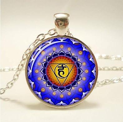 zhubao Collar Conchas 7 Chakra Reiki Collar de curación Buda ...