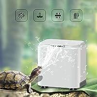 Vansuky AC220~240V Filtro de bajo Nivel de Agua para Tortuga (1.5cm), Bomba de Agua Limpia para Tortuga y Tanque de…
