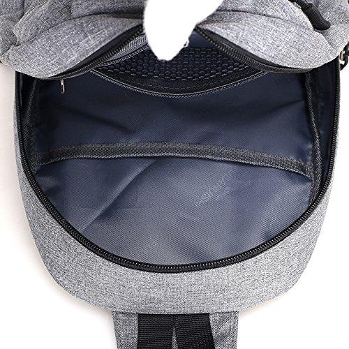 Kinttnyfgi Tissu Dos Multifonction Plein De Air Occasionnel Oxford Sports Mode Bandoulière D'épaule À En noir Sac wrqO8rF1X