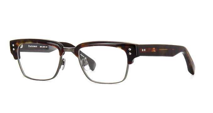 89a2e31dcd27 Amazon.com  Dita Statesman DRX-2011B-52-Z Eyeglass Frame Dark ...