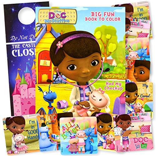 Doc McStuffins Coloring Book Set with Doc McStuffins Stickers]()