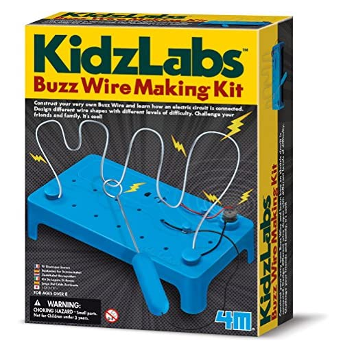DAM 5603232 - Jeu De Construction - Kidzlabs - Testeur De Stress - Buzz Wire