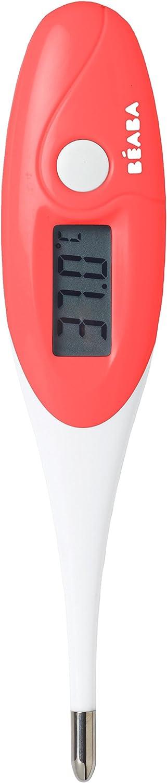 Thermom/ètre Thermobip /à embout souple B/éaba coloris rouge