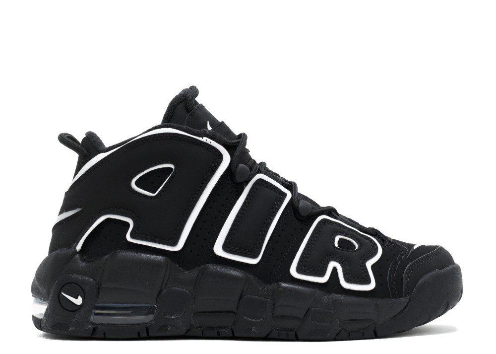 Nike Kids Air Více boty Černá uptempo boty Více Černá bílá a75020f ... 04de844abc