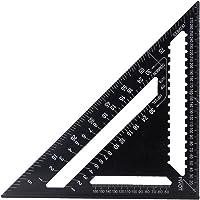12 Inch metrische aluminium dakbedekking driehoek gradenboog voor ingenieur timmerman omlijsten, dakbedekking, bouw…