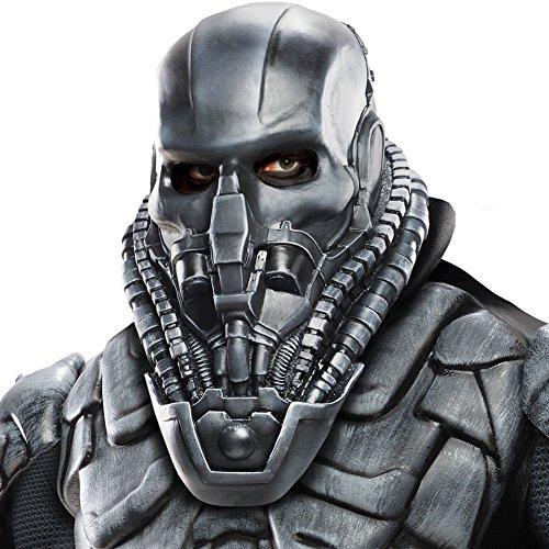 Rubie's Costume Superman Man Of Steel Adult General Zod Mask, Multi-Colored, One (Man Of Steel Zod Halloween Costume)
