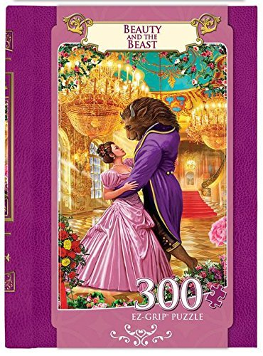 Masterpieces EZ Grip Book Box Beauty and the Beast Puzzle (300 Piece) by MasterPieces