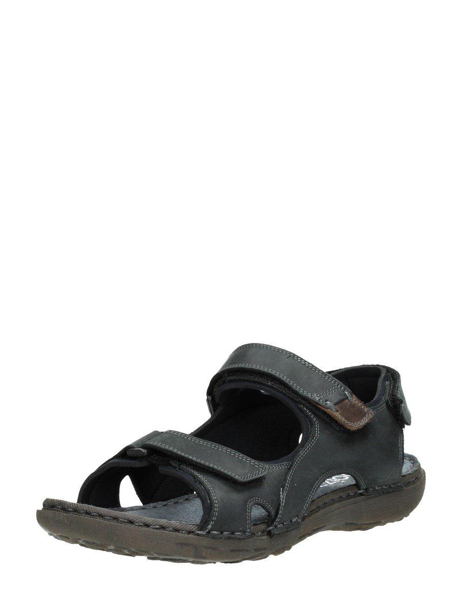 Choizz - Sandalias de vestir de Piel para hombre Negro * target_attribute_value 44 EU|DAKAR NERO