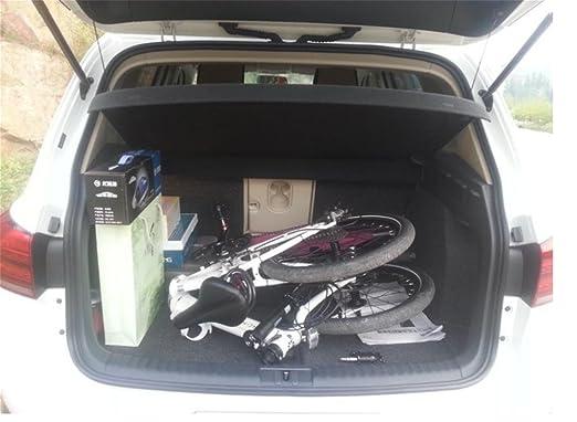 MASLEID bicicleta Bicicleta de montaña bicicletas plegables blanco: Amazon.es: Deportes y aire libre