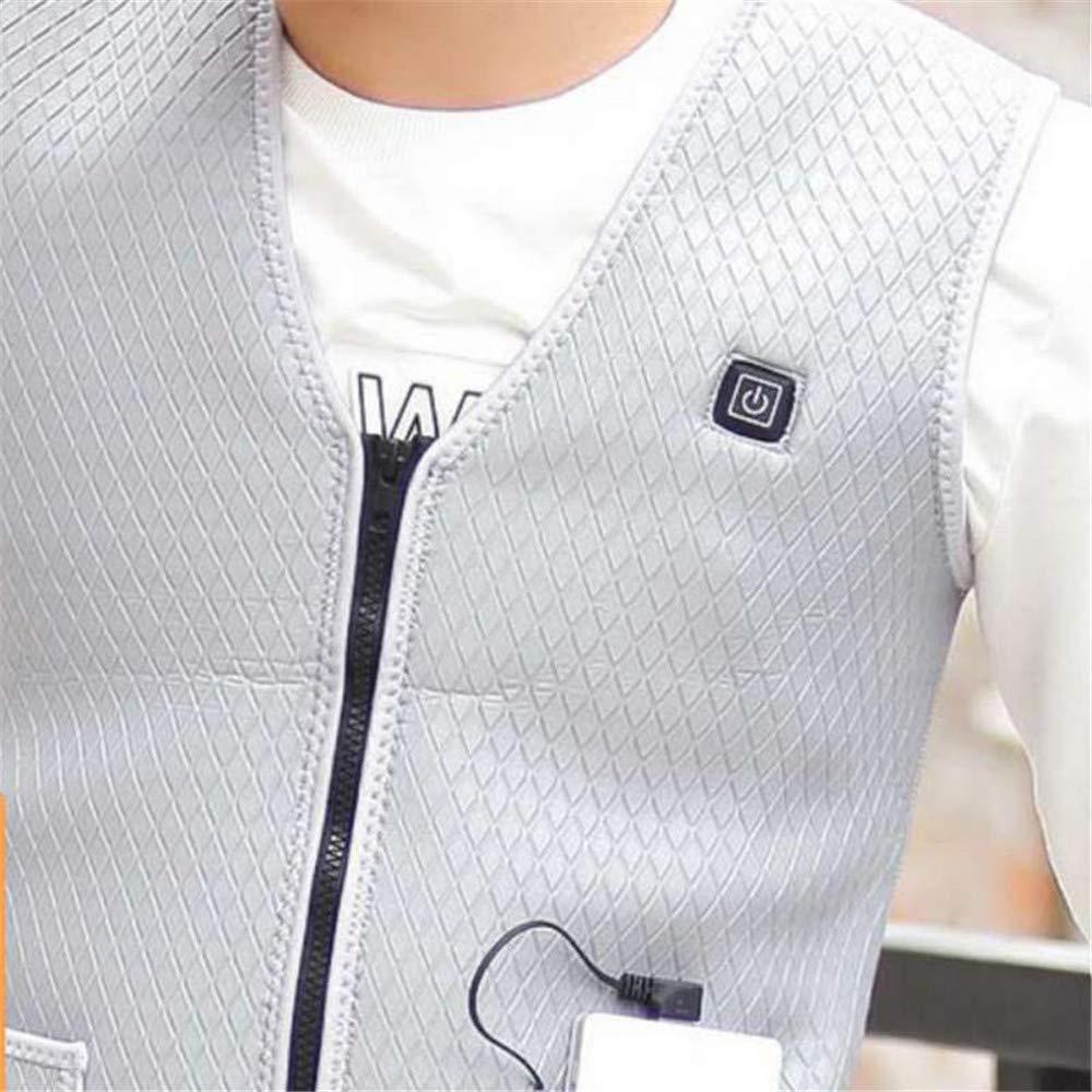 XIHAA Elektrisch Beheizte Beheizte Elektrisch Warme Weste USB, Leichte 5V 3 Heizstufen Wasserdicht Windproof USB, Das Elektrischen Beheizten Weste-Winter Für Das Sportwandern Auflädt 6cda0b