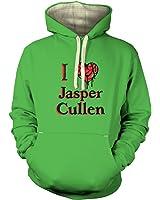 I Heart Jasper Cullen Hoodie (premium) - Film Movie Geeky Tshirt