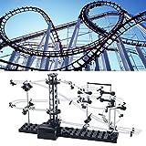 SELFON Level-2 Marble Runs Roller CoasterModelKids Space Rail Building Toys SpacewarpToy