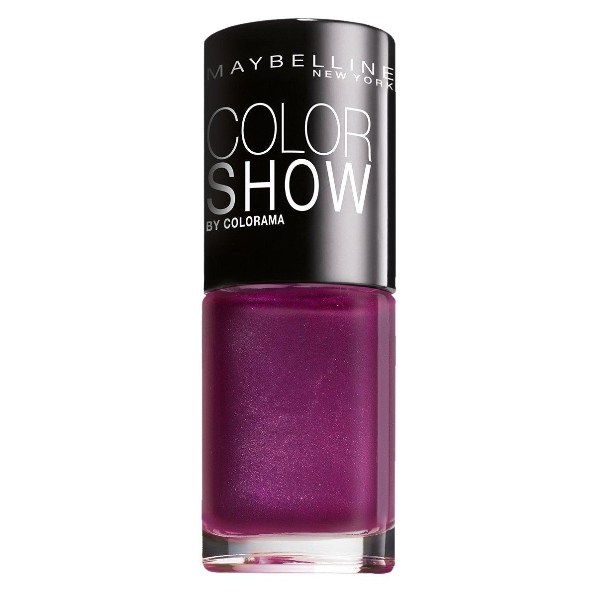 Maybelline New York Make-Up Nailpolish Color Show Nagellack Purple ...