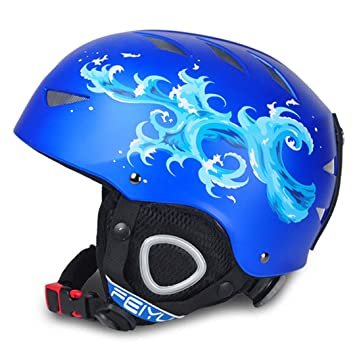 Ski-Penostr One-Piece High-End Niños Casco de esquí Deportes Extremos Protector Engranaje Chapa Doble Placa Warm Wind Snow Cascos Niños: Amazon.es: Deportes ...