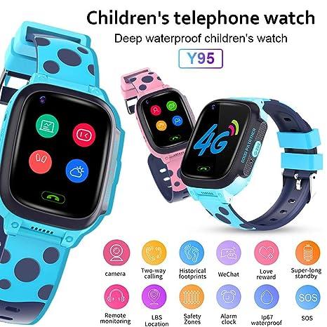 bulrusely Reloj Inteligente para niños con Seguimiento GPS ...