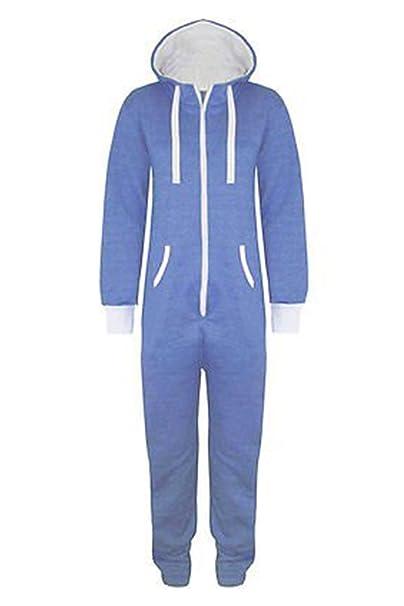 Oops Outlet - Pijama de una pieza - para hombre Azul azul claro M