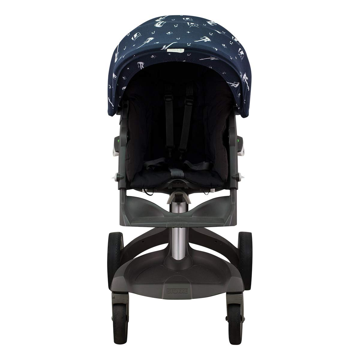 Janabebé Hood Canopy for Stokke Xplori and Stokke Crusi (Rock Hero) by JANABEBE (Image #3)