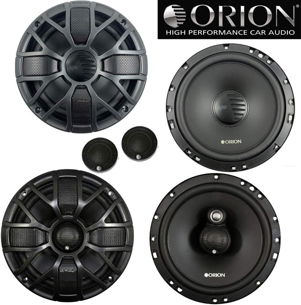 Orion XTR65.SC 6.5 450Watts Component Speakers XTR65.3 6.5 460W 3-Way Coaxial Speaker Combo
