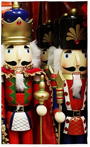 CafePress Nutcracker Soldiers Decorative Area Rug, Fabric Throw Rug