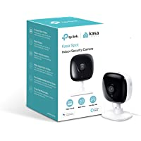 TP-Link Kasa Spot Indoor Camera, 1080P HD Smart wifi Security Camera with Night Vision, Motion Detection, Remote Monitor, Works with Google Assistant and Alexa (KC100)