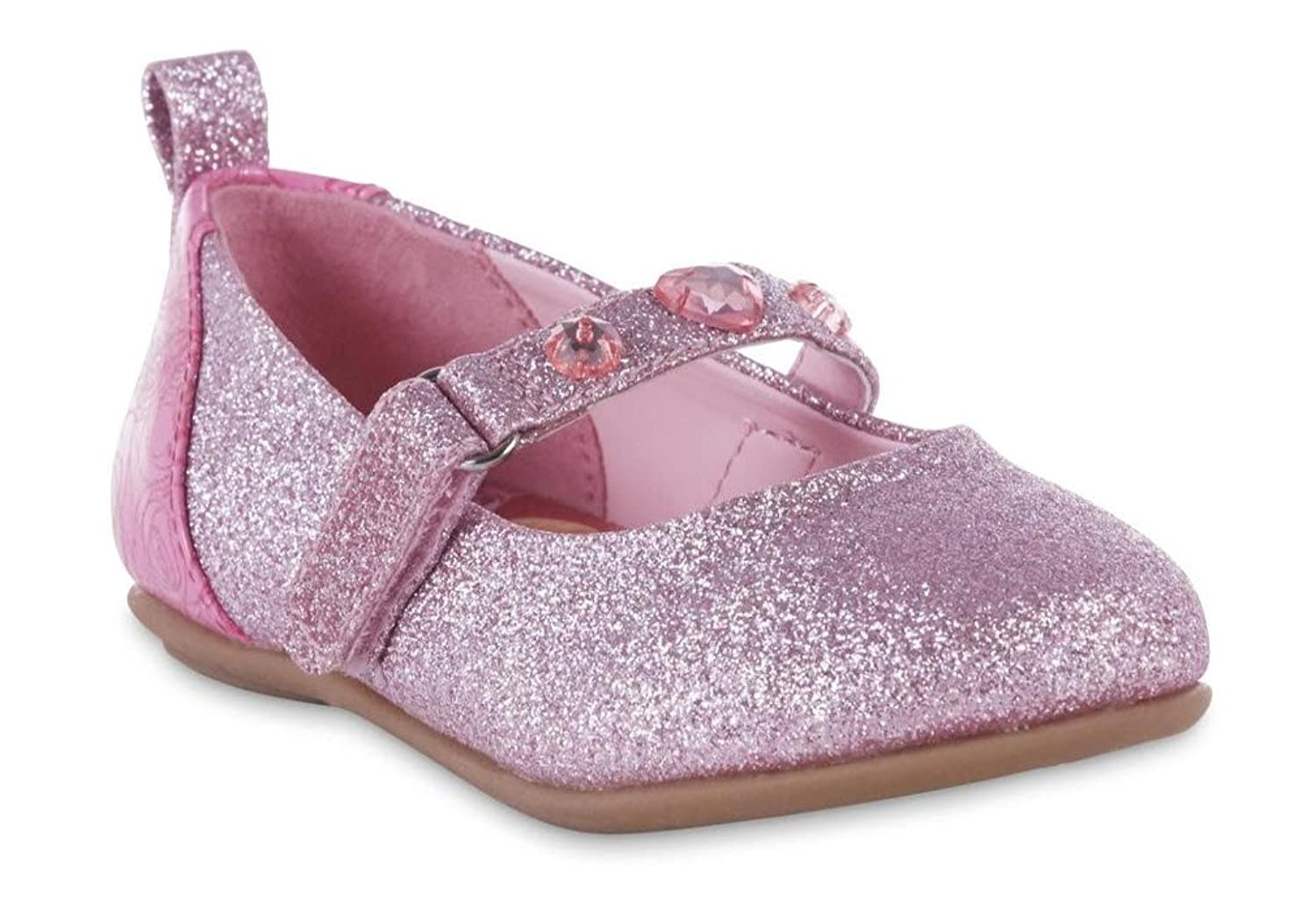 ACI Disney Girls' Princess Flat Girls Dress Shoes