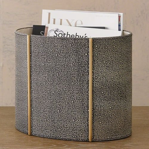 Global Views 7.90326 Shagreen Leather Global View (Furniture Upscale Brands)