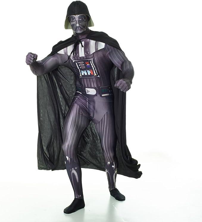 Morphsuits MLZDVM - Disfraces Darth Vader edad, 150-165 cm, tamaño ...