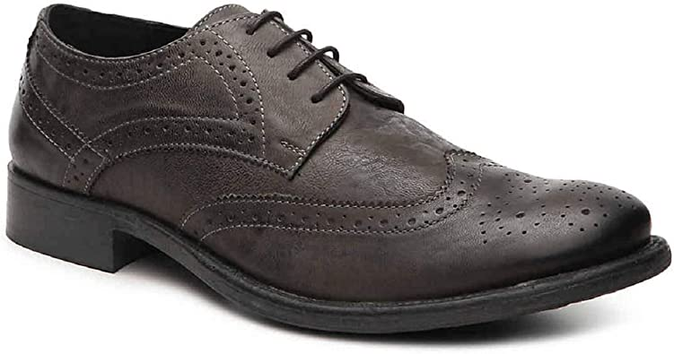 Amazon Com Hush Puppies Mens Zack Wing Tip Oxford Dress Shoes Oxfords
