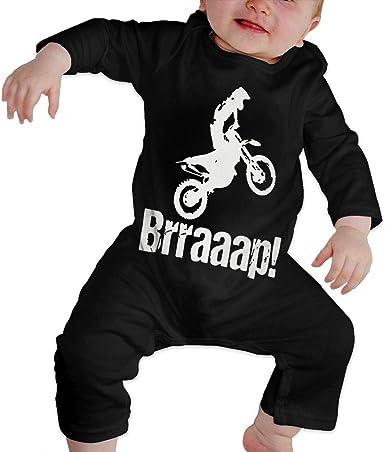 Suit 6-24 Months XHAKZM71 Toddler Round Collar Brraaap Dirt Bike Motocross Long Sleeve Pajamas Sleepwear 100/% Cotton