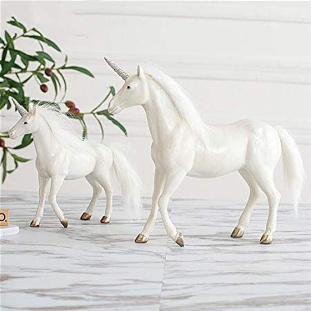 Andou Nk 彫刻工芸馬のオフィスのリビングルームのための動物の家の装飾装飾品