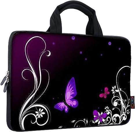 "Neoprene 12/"" Inch 12.1/"" 11.6/"" Laptop Sleeve Bag Portable Cover Case For Dell HP"