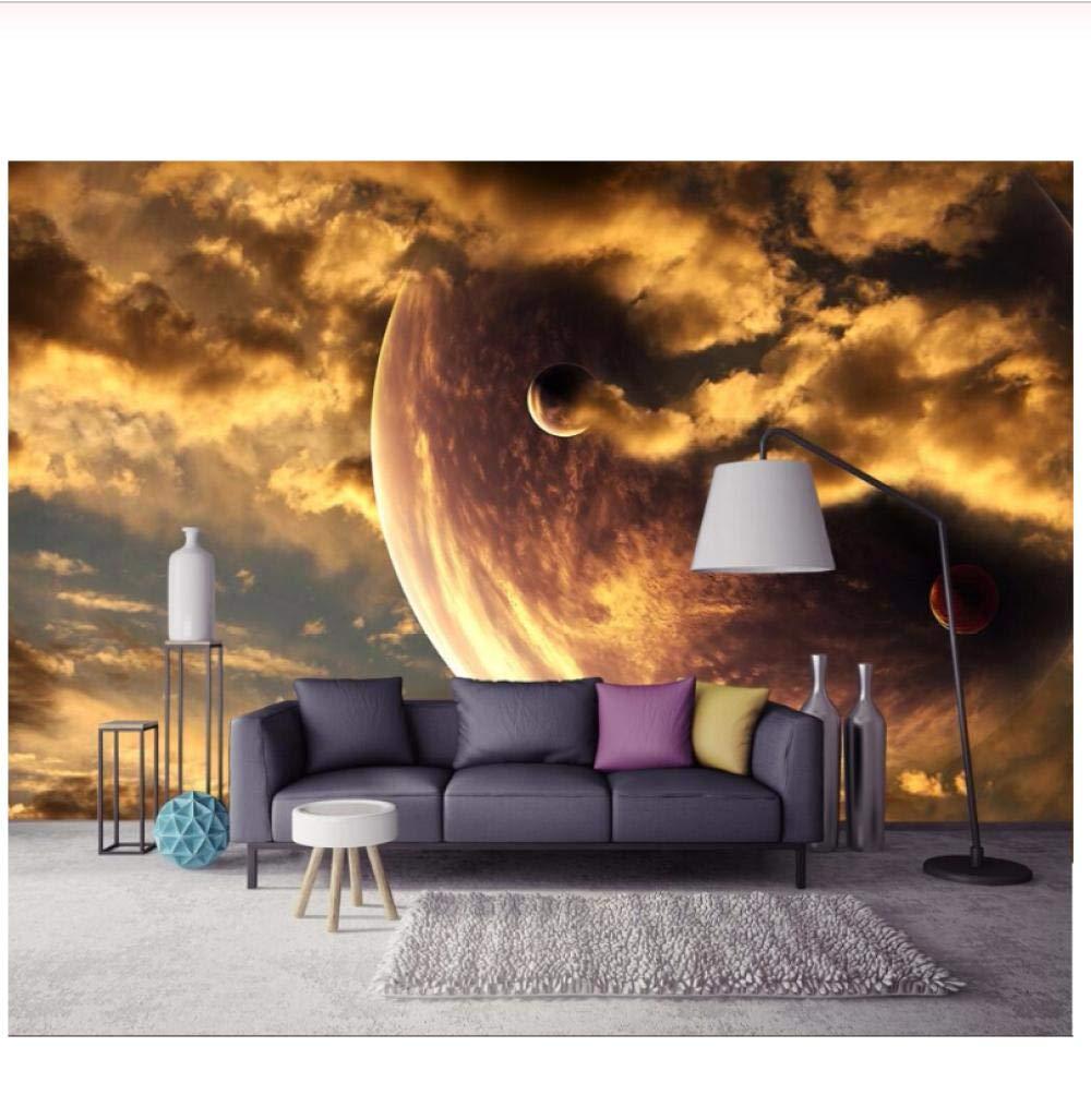 Amazon Com Fifikoj Wallpaper Golden Yellow Aesthetic Atmosphere