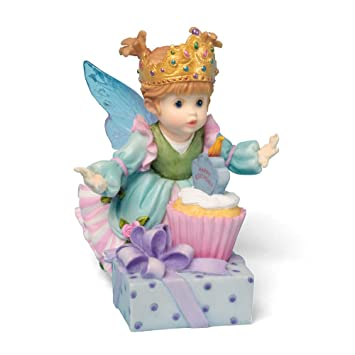 Charmant Enesco My Little Kitchen Fairies Happy Birthday Figure