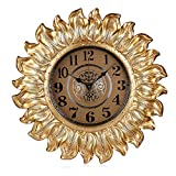 Creativity Sun Of European Art Mute The Decorative Clock Wall Clock The Living - Best Reviews Guide