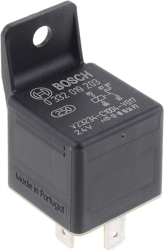 Mini relays 24V 20A BOSCH 0 332 019 203 4RA007957011 0332019203