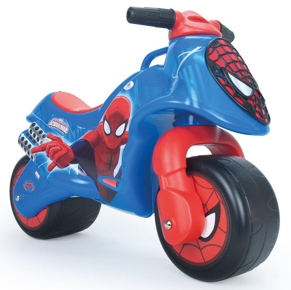 INJUSA-19060/000-Children's Vehicle-Foot to Floor Neox Spider-Man