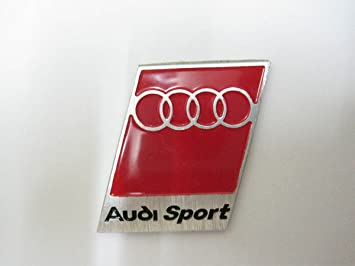 AUDI SPORT Auto Car Emblems Accessories By Chrome Emblem D Badge M - Audi car emblem