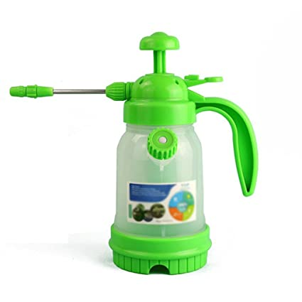 Wddwarmhome regadera verde 1,8 l plástico casa botella de spray botella de spray riego
