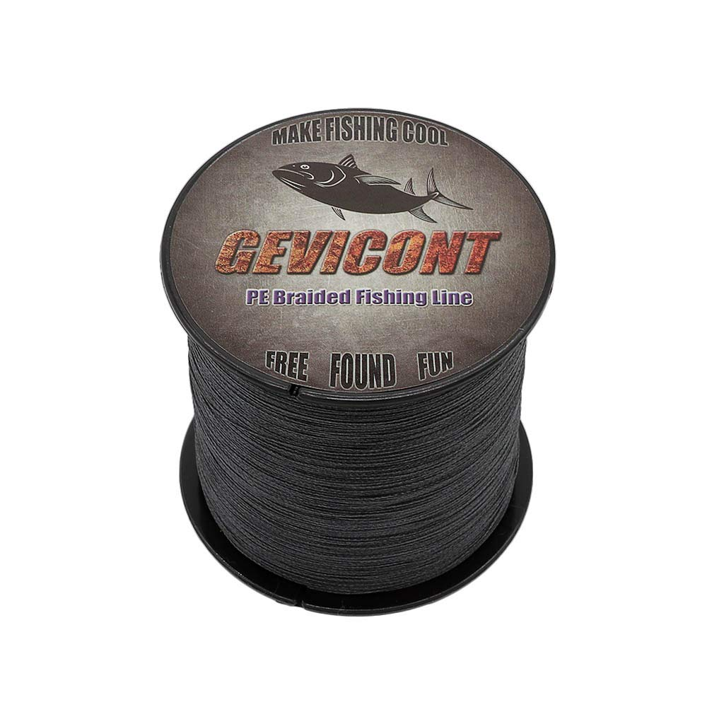 GEVICONT GEVICONT GEVICONT PE geflochtene Angelschnur, 4 Stränge, 1500 m - 1640 Yds, 6 lbs - 300 lbs Multifilament Karpfenangelschnur B07MDGB8WZ Geflochtene Schnüre Hochwertig a6fb9e