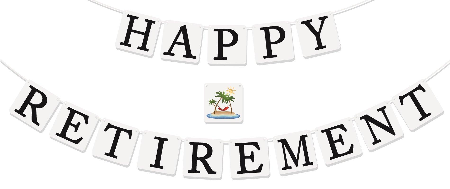 "Amazon.com: 18"" Happy Retirement Mylar Balloon Palm Tree ..."