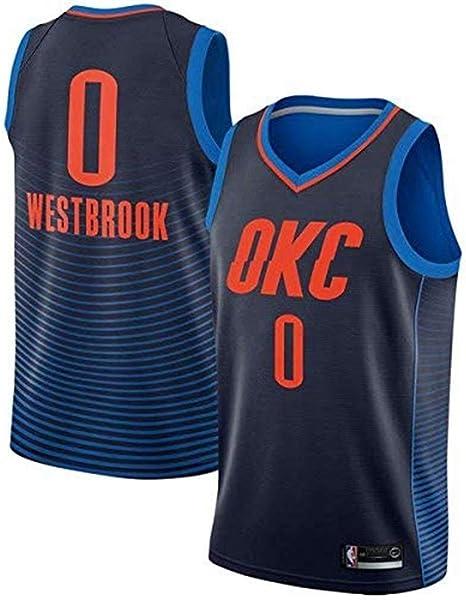 Camiseta de Baloncesto for Hombre NBA Russell Westbrook - Oklahoma ...