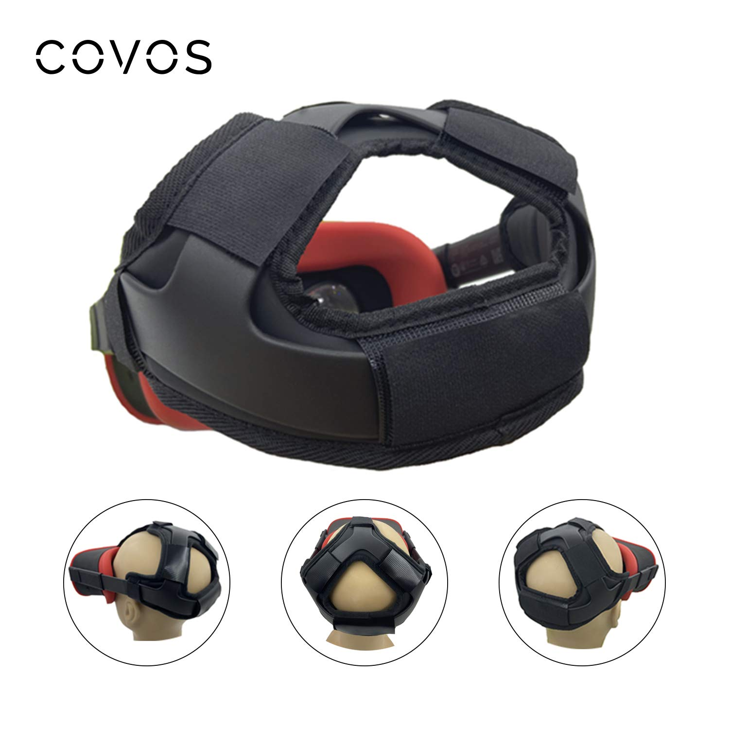 Covos VR Headset Head Strap Foam Pad for Oculus Quest, Oculus Quest Headset Accessories Replacement Headband Strap Pad…
