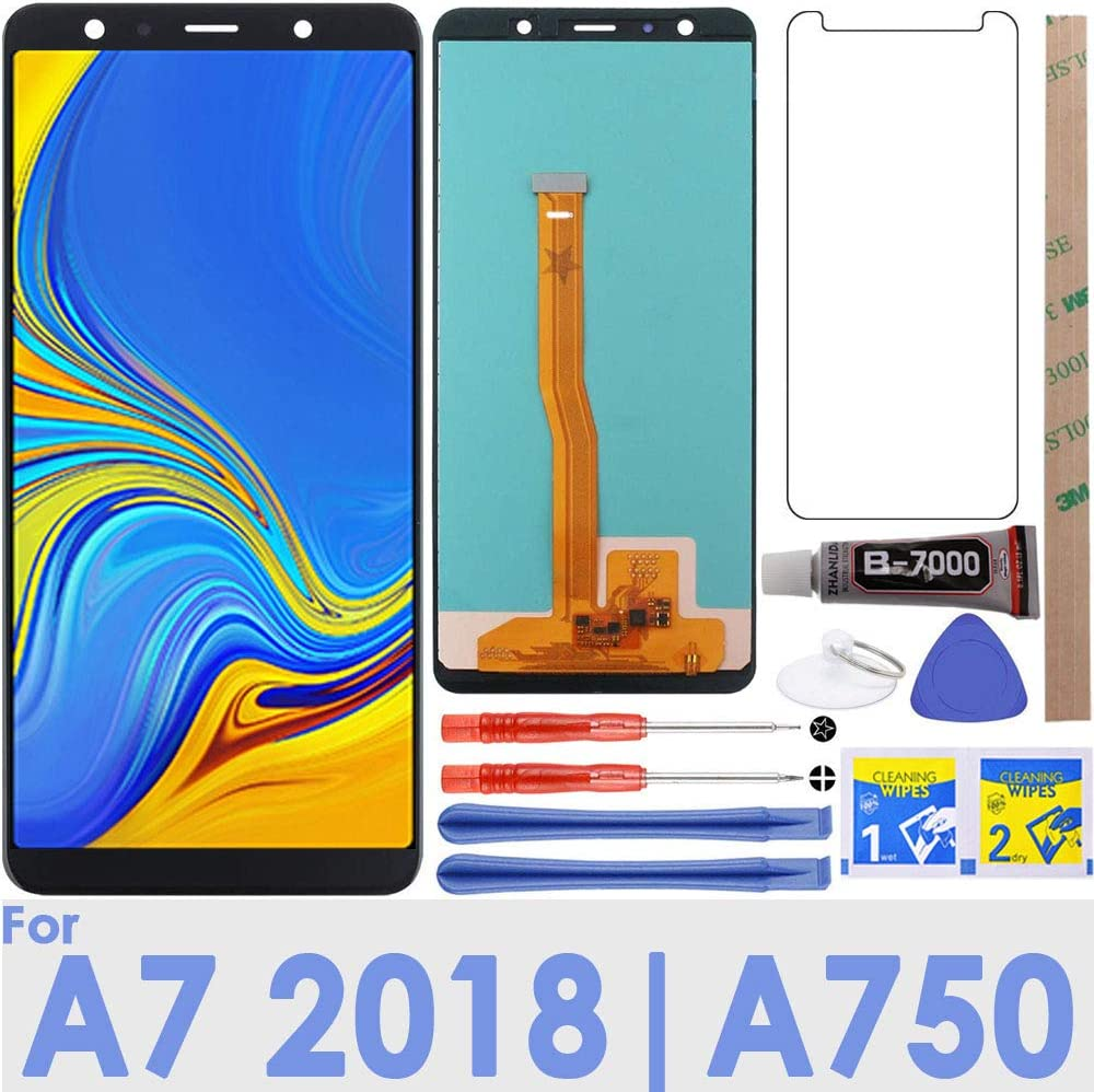 LCD Screen Replacement Touch Digitizer Display for Samsung Galaxy J3 2017 Prime//Emerge//Eclipse J327 J327A J327V J327P J327T1 J327R4 with Repair Tools /& Adhesive Tape Gray