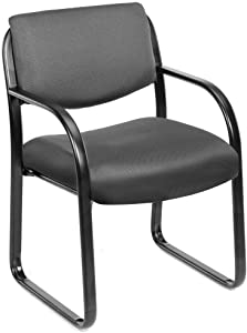 Boss Fabric Guest Chair, Grey