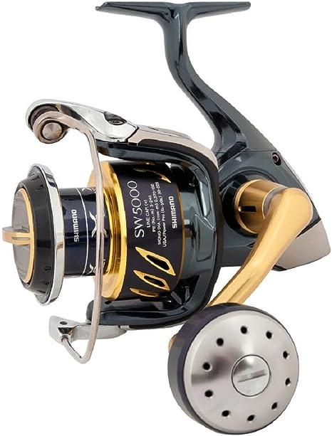 Shimano Stella SW-B 5000 HG - Carrete de pesca: Amazon.es ...