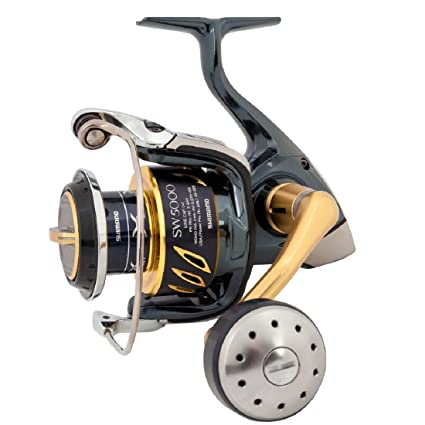 4e221876dd3 Amazon.com : Shimano Stella 5000 SW B HG Saltwater Spinning Fishing Reel,  STL5000SWBHG : Spinning Fishing Reels : Sports & Outdoors