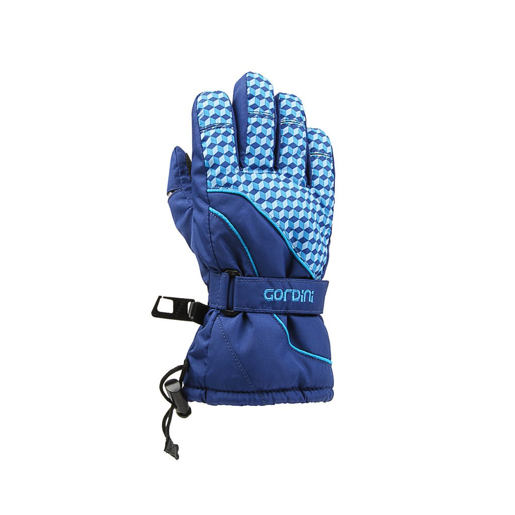 Gordini Tot's Prima III Glove, Blue Cube, Medium